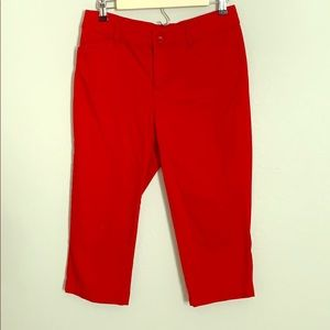 St.John's Bay Red Capri Pant